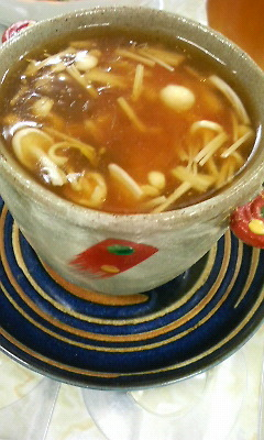 中華風あんかけ茶碗蒸し